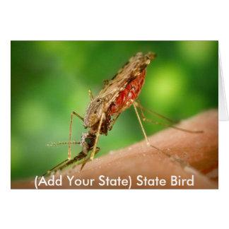 Full Mosquito - State Bird Card