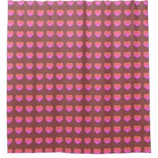 Full of love shower curtain
