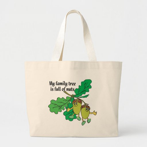 Full of Nuts Tote Bags