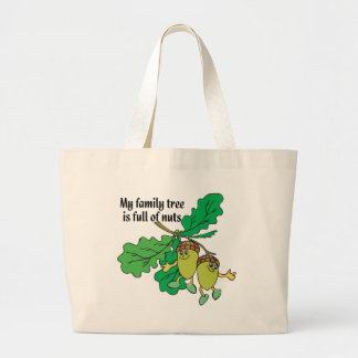 Full of Nuts Large Tote Bag