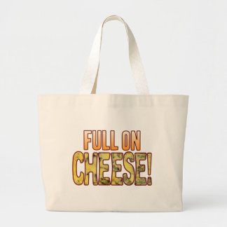 Full On Blue Cheese Large Tote Bag