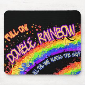 Full On Double Rainbow Mousepad w/ Free Wallpaper!