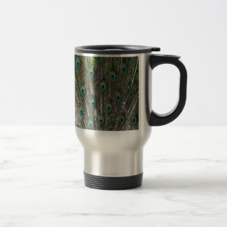 Full Peacock Bloom Travel Mug