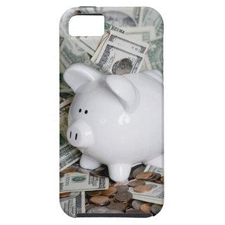 Full Piggy Bank Close case Tough iPhone 5 Case
