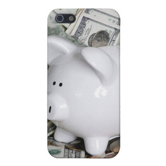 Full Piggy Bank Close up phone case Cover For iPhone 5