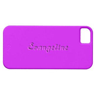 Full Pink iPhone 5 case of Evangeline