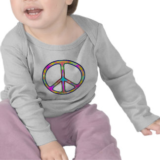 Full Psychedelic Peace Sign T-shirt