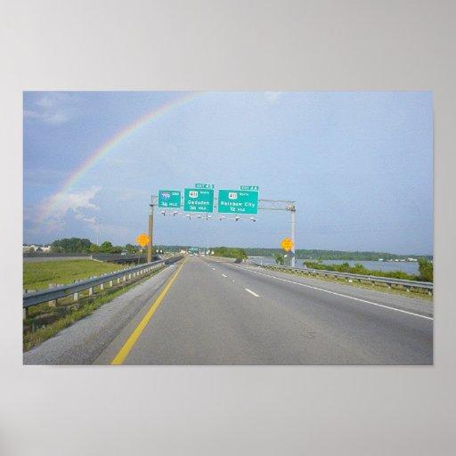 Full Rainbow 1 Poster