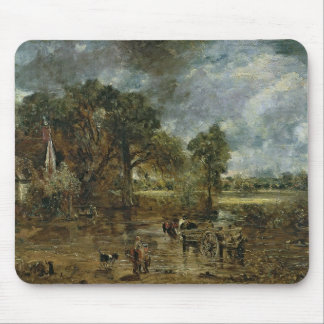 Full scale study for 'The Hay Wain', c.1821 Mouse Mat
