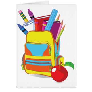 Full School Bag Note Cards