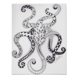 Full Size Octopus Poster