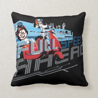 Full Speed Ahead Cushion