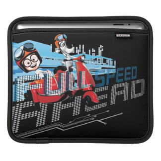 Full Speed Ahead iPad Sleeve