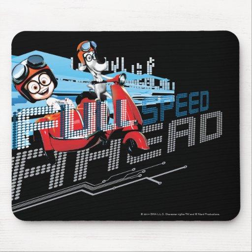 Full Speed Ahead Mousepad