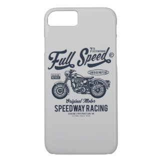 Full Speed Speedway Racing iPhone 8/7 Case