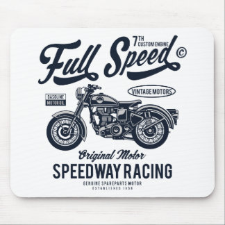 Full Speed Speedway Racing Mouse Mat
