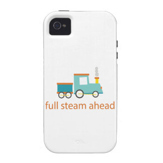 Full Steam Ahead iPhone 4 Cover