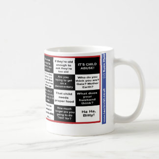 Full term breastfeeding bingo coffee mug