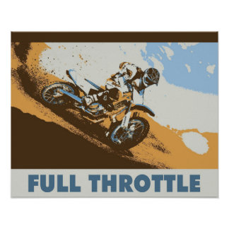 Full Throttle 16x20 Poster