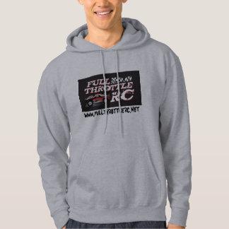 Full Throttle Logo copy, www.fullthrottlerc.net Hoodie