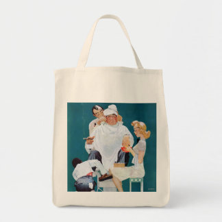 Full Treatment Grocery Tote Bag