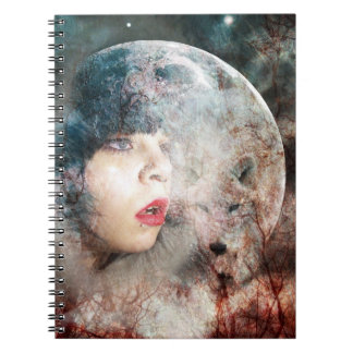 Full Wolfs Moon Rising Notebooks