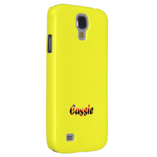 Full Yellow Samsung Galaxy s4 cover for Cassie