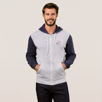 Full zip fishing hoodie