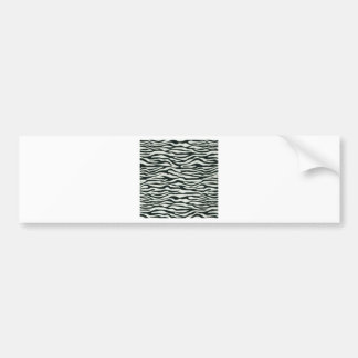 Fullbreed Custom Zebra Skin Bumper Stickers