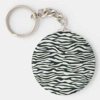 Fullbreed Custom Zebra Skin Key Chains