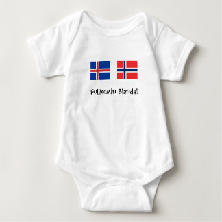 Fullkomin Blanda / Perfect mix (Icelandic) Baby Bodysuit