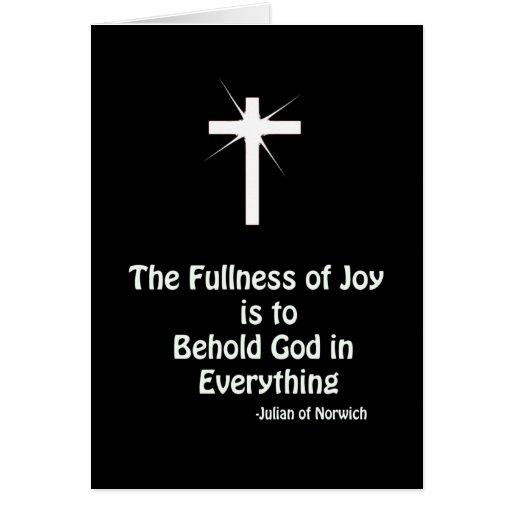 fullness of Joy Greeting Cards