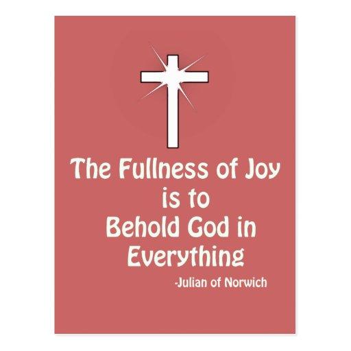 fullness of Joy Post Card