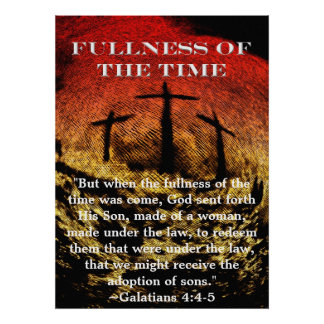 Fullness of the Time Poster