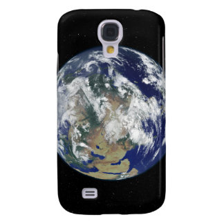 Fully lit Earth centered on Asia Galaxy S4 Case