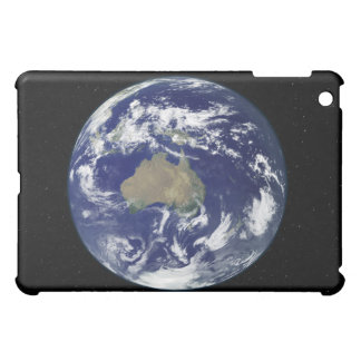 Fully lit Earth centered on Australia and Ocean iPad Mini Case