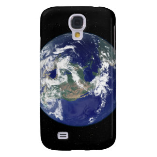 Fully lit Earth centered on North America Galaxy S4 Case