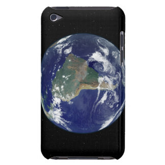 Fully lit Earth centered on South America iPod Case-Mate Case