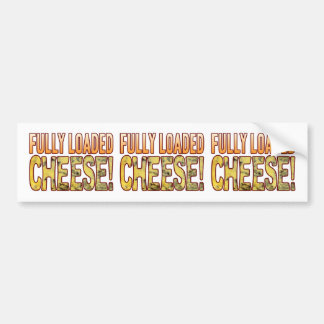 Fully Loaded Blue Cheese Bumper Sticker