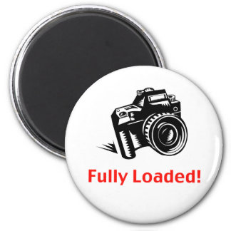 Fully Loaded Camera Fridge Magnets