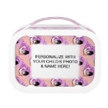 FULLY PERSONALIZABLE KITTY KISSES LUNCH BOX