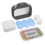 FULLY PERSONALIZABLE POPSICLE LUNCH BOX