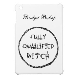 Fully Qualified Witch - Charcoal Effect iPad Mini Cover