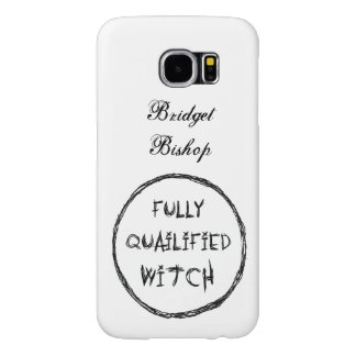 Fully Qualified Witch - Charcoal Effect Samsung Galaxy S6 Cases