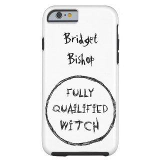 Fully Qualified Witch - Charcoal Effect Tough iPhone 6 Case