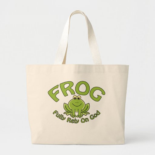 Fully Rely On God Canvas Bag