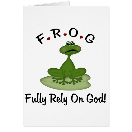 Fully Rely on God Card