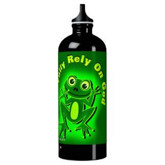 Fully rely on God Frog SIGG Traveller 1.0L Water Bottle