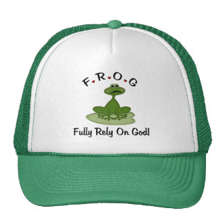 Fully Rely on God Mesh Hat
