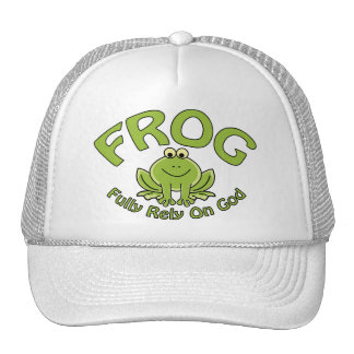 Fully Rely On God Trucker Hats